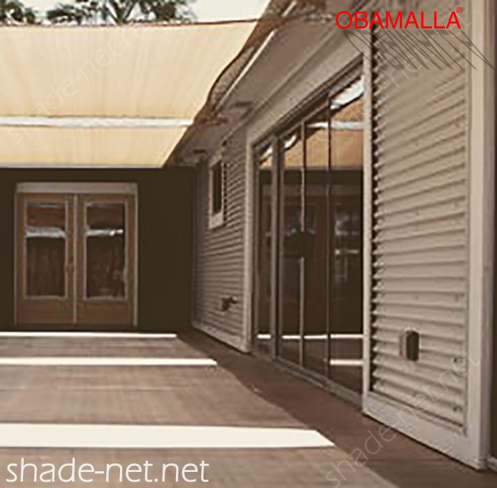 shadehouse obamalla installed of house for protection against the external weather.